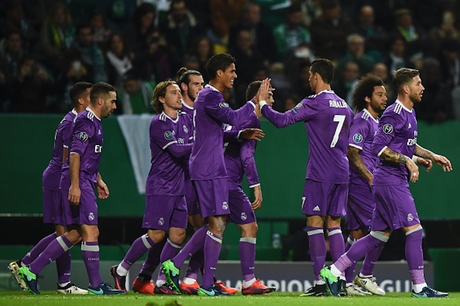 Real Madrid, Sporting Portugal, Champions League, 1-2
