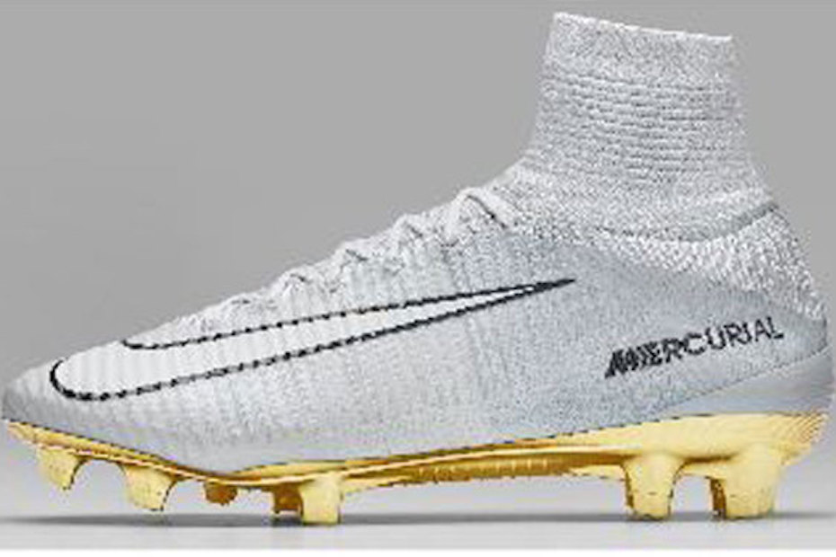 white gold cr7 superfly