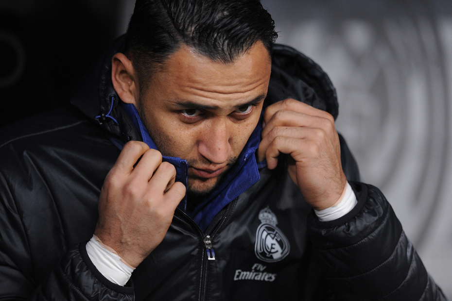 El Madrid intenta colocar a Keylor Navas en el United